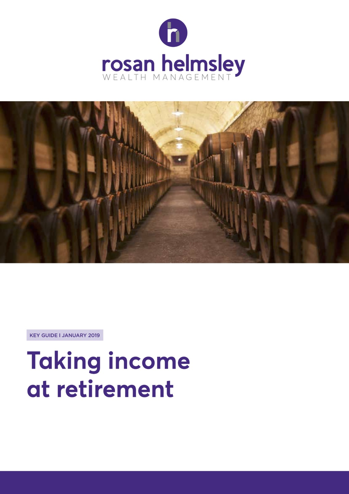 Taking Income at Retirement 5