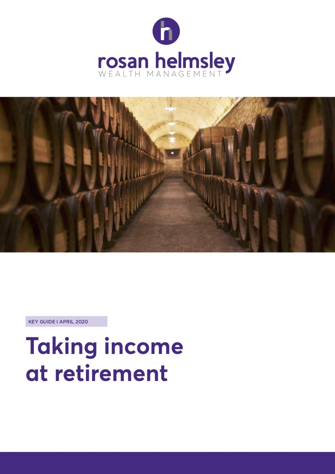 Taking Income at Retirement 6