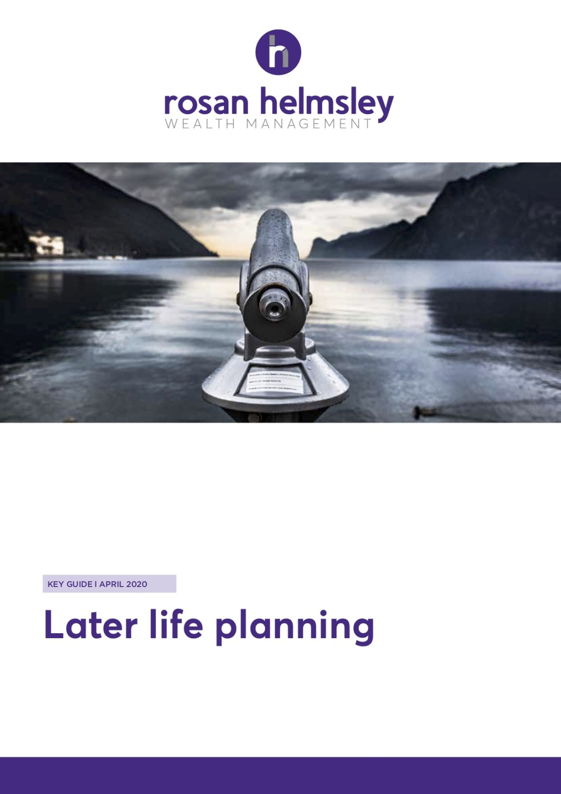 Later Life Planning 1