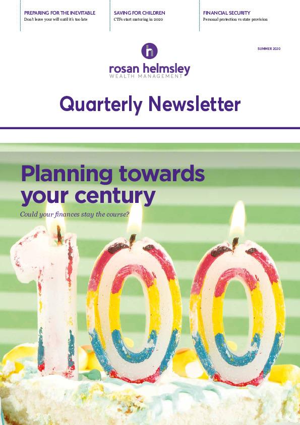 Rosan Helmsley Summer Newsletter