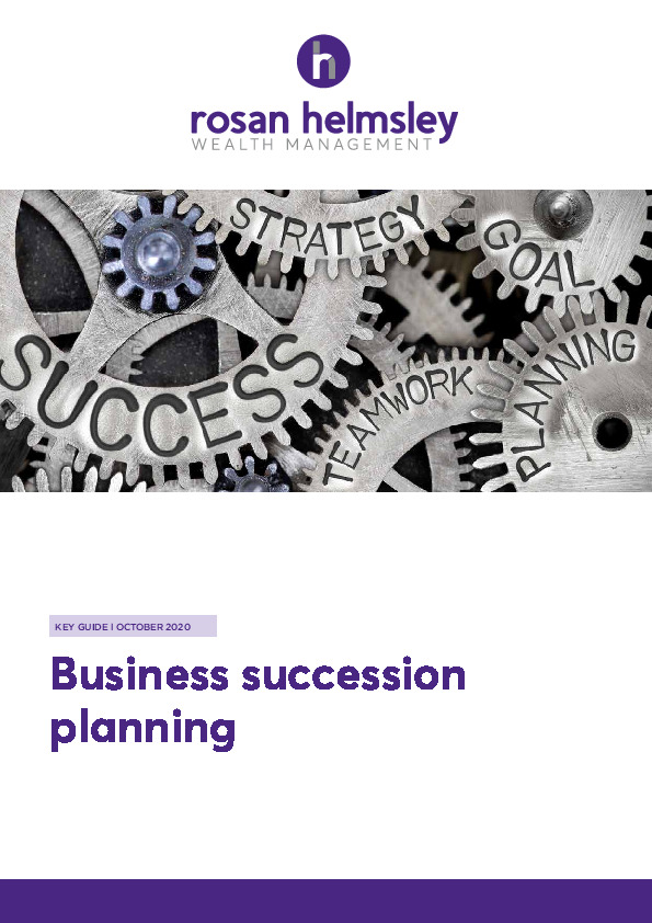 10.20 Key Guide - Business Succession Planning