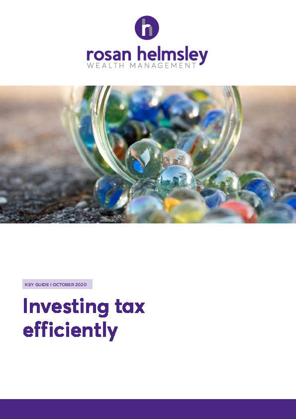 10.20 Key Guide - Investing Tax Efficiently