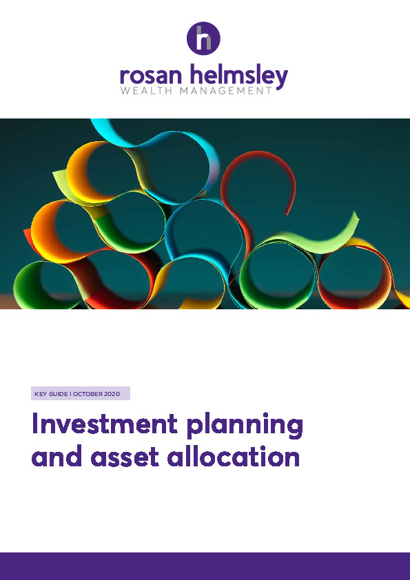 10.20 Key Guide - Investment Planning and Asset Allocation