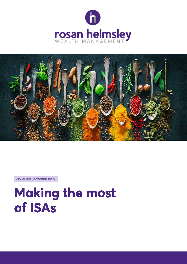 10.20 Key Guide - Making the most of ISAs